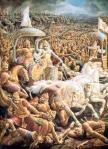 Fakta Ilmiah Adanya Perang Mahabharata (Perang Nuklir Zaman Prasejarah?) Mahabharata-arjuna-vs-bisma