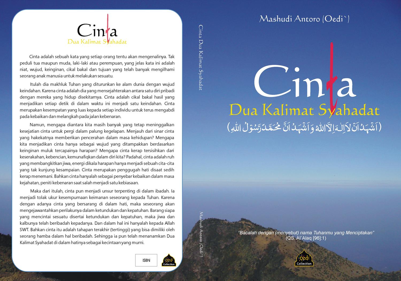 Buku: Cinta Dua Kalimat Syahadat (Buku terbaruku)