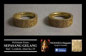 gelang emas abad 19 1