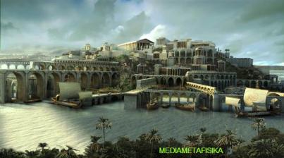 WENTIRA (kota gaib warisan Atlantis)