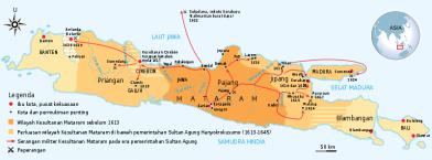 peta kerajaan mataram kuno