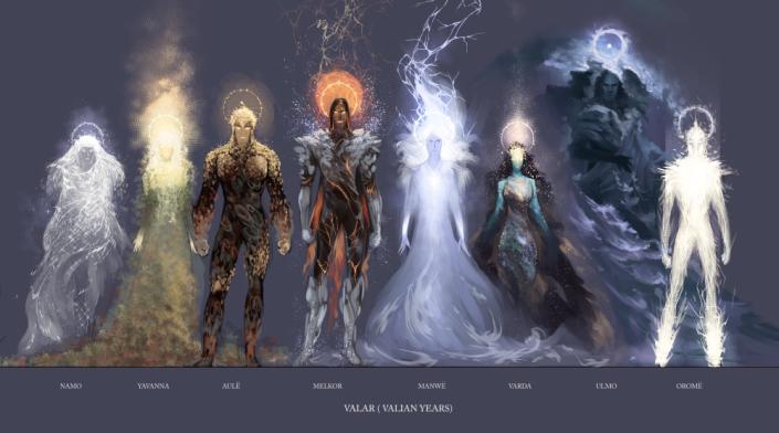 mitologi Lord of the rings - para Ainur