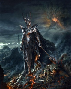 mitologi Lord-of-the-Rings-Sauron-Painting