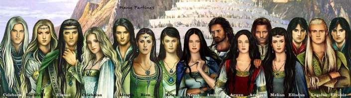mitologi LOTR - Elf