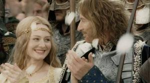 mitologi LOTR - Eowyn and Faramir