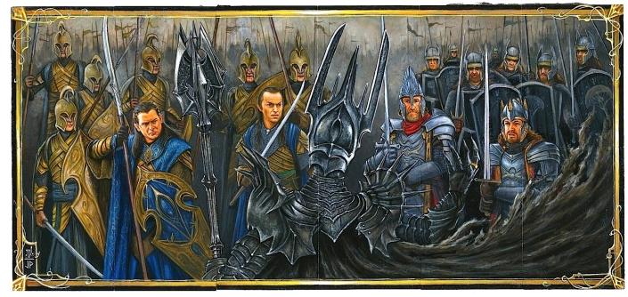 mitologi LOTR - Last Alliance