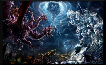 battle of light & dark