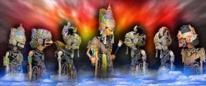 wayang para dewa